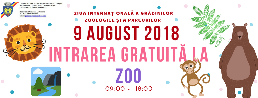 afis ziua internationala zoo2018